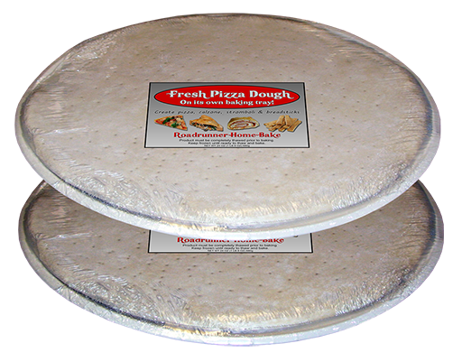 Shrink Wrapped Sheeted Pizza Dough